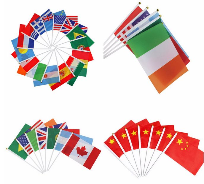 Factory Custom Team Flags and Banners Left Hand Flag
