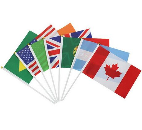 China Factory Wholesale National Hand Flags for Sale