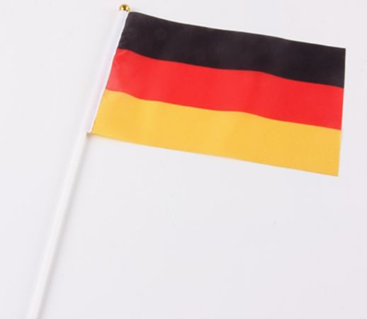 Wholesale Hand Shaking Flag Germany Hand Flag