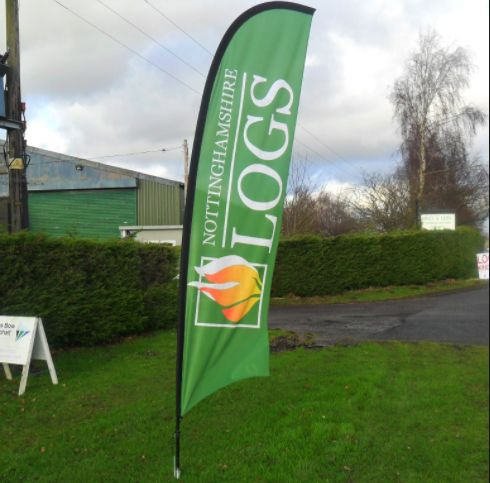 Promotional Flags And Banners Swooper Banner Flags
