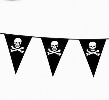 Halloween Party Pennant String Halloween Bunting Flags